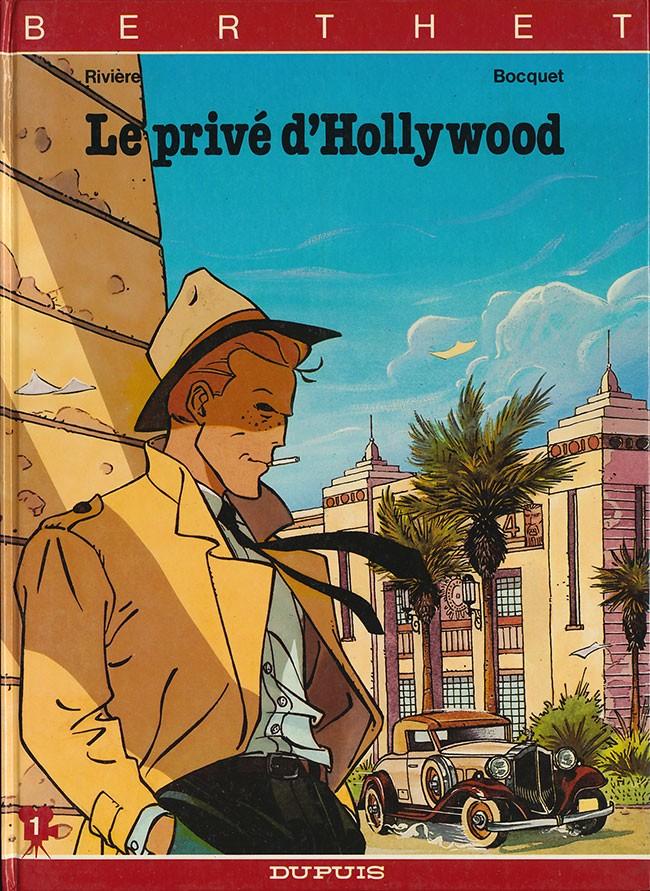 Couverture de Le privé d'Hollywood - Tome 1