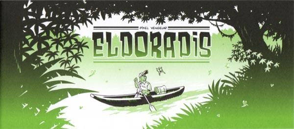 Couverture de Mini-récits et stripbooks Spirou -MR3891- Eldoradis