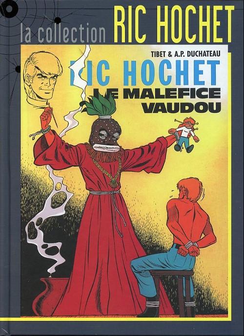 Couverture de Ric Hochet - La collection (Hachette) -37- Le maléfice vaudou