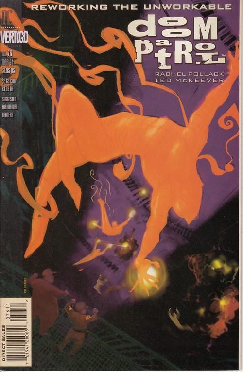 Couverture de Doom Patrol Vol.2 (DC Comics - 1987) -76- The Teiresias Wars Part 2: The Hotel Of Lost Light