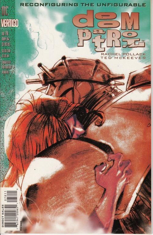 Couverture de Doom Patrol Vol.2 (DC Comics - 1987) -78- The Teiresias Wars Part 4: The Path Of The Vanished Alphabets