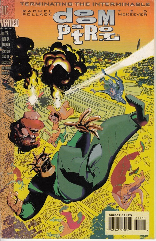 Couverture de Doom Patrol Vol.2 (DC Comics - 1987) -79- The Teiresias Wars Part 5: The Fire Sermon