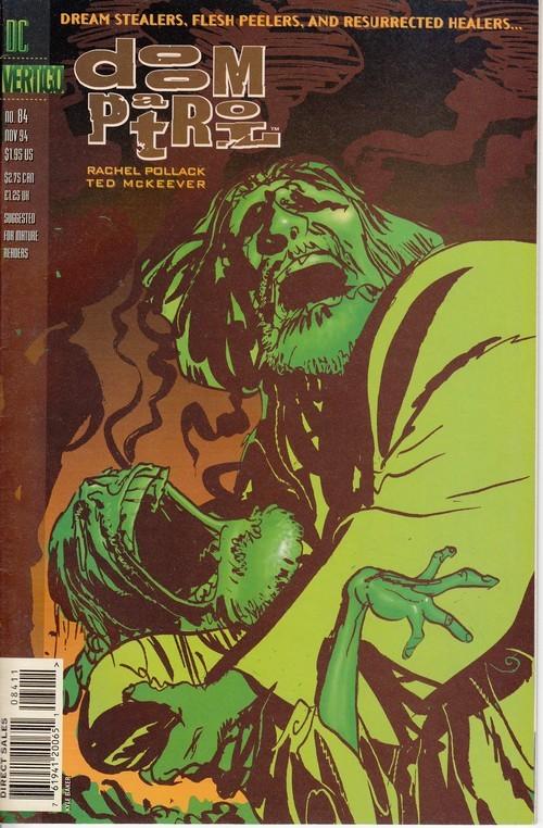 Couverture de Doom Patrol Vol.2 (DC Comics - 1987) -84- Imagine Ari's Friends Part 1: A Song For The Small Face