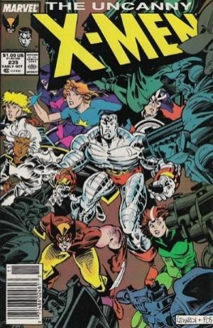 Couverture de Uncanny X-Men (The) (1963) -235- Welcome to Genosha