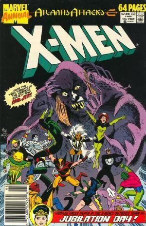Couverture de Uncanny X-Men (The) (Marvel comics - 1963) -AN13- Atlantis attacks : Double cross