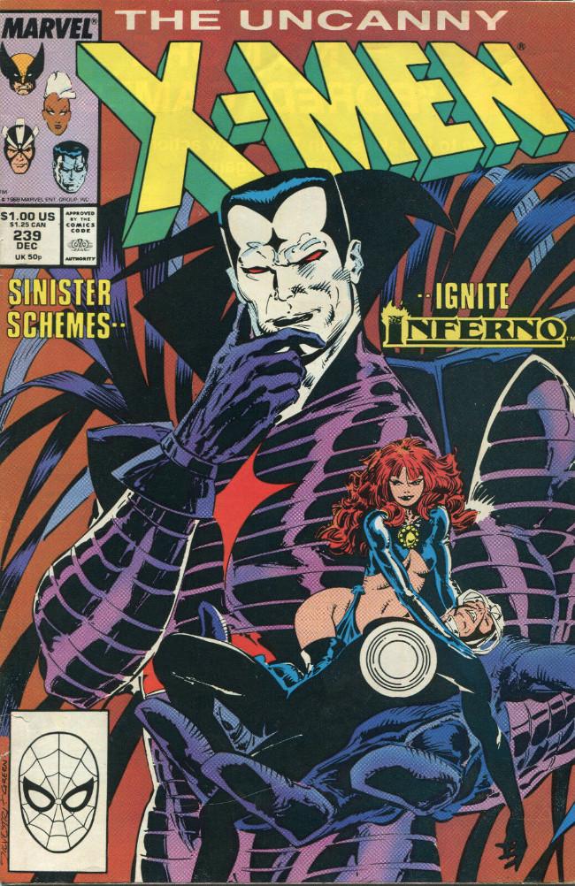 Couverture de Uncanny X-Men (The) (1963) -239- MR sinister