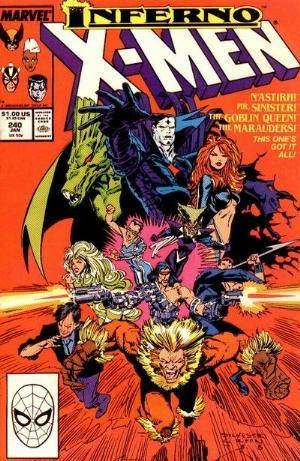 Couverture de Uncanny X-Men (The) (Marvel comics - 1963) -240- Strike the match