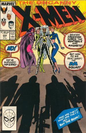 Couverture de Uncanny X-Men (The) (1963) -244- Ladies night
