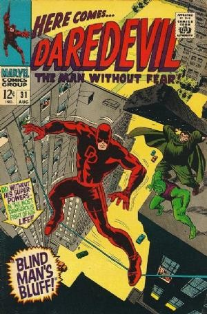 Couverture de Daredevil (1964) -31- Blind man's bluff!