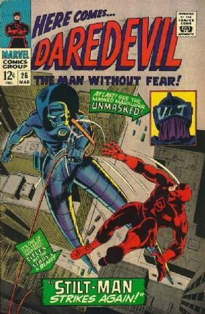 Couverture de Daredevil Vol. 1 (Marvel - 1964) -26- Stilt-Man strikes again!