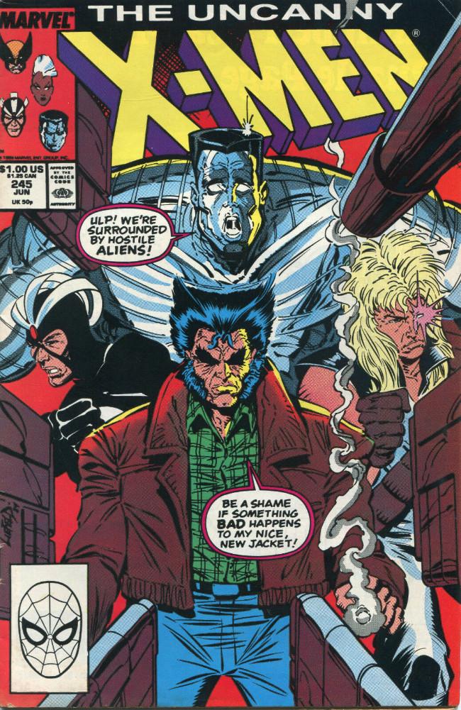 Couverture de Uncanny X-Men (The) (Marvel comics - 1963) -245- Men!