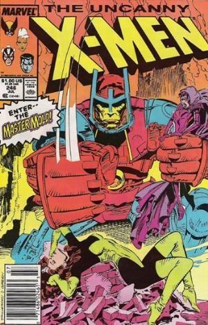 Couverture de Uncanny X-Men (The) (Marvel comics - 1963) -246- The days of other lights!