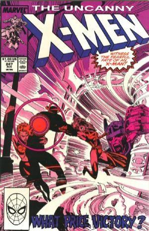 Couverture de Uncanny X-Men (The) (1963) -247- The light that failed