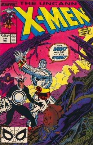 Couverture de Uncanny X-Men (The) (1963) -248- Fall