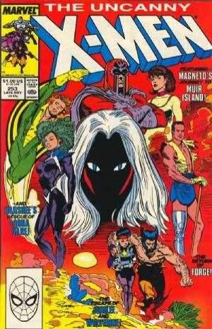 Couverture de Uncanny X-Men (The) (1963) -253- Storm warnings!