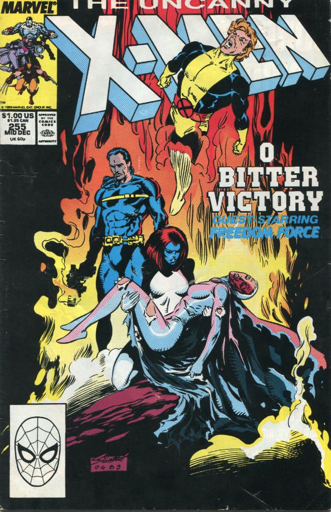 Couverture de Uncanny X-Men (The) (Marvel comics - 1963) -255- Crash&burn