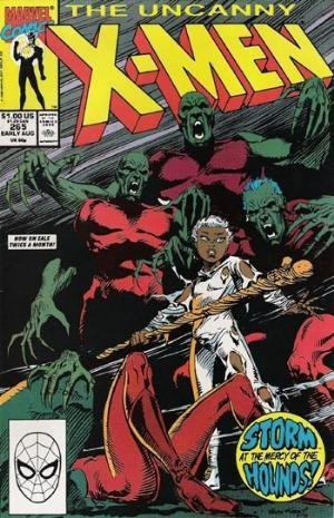 Couverture de Uncanny X-Men (The) (1963) -265- Storm