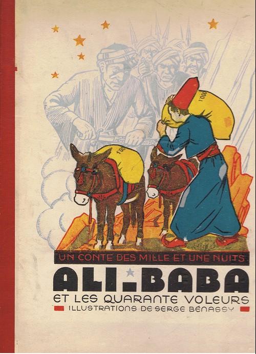 Couverture de Ali-Baba et les quarante voleurs (Bénassy) - Ali-Baba et les quarante voleurs