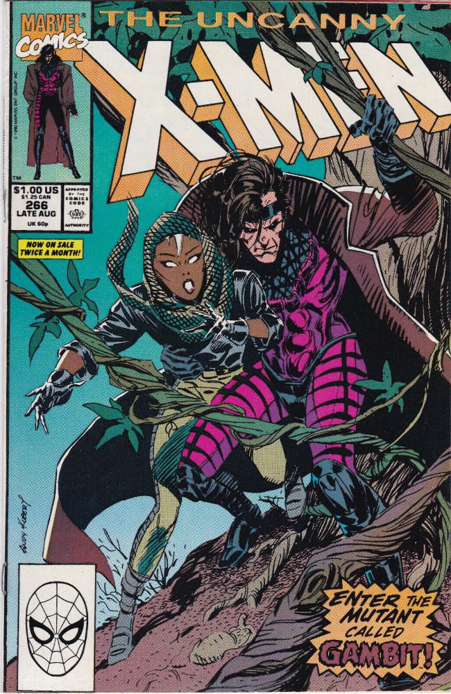 Couverture de Uncanny X-Men (The) (Marvel comics - 1963) -266- Gambit
