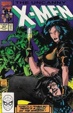 Couverture de Uncanny X-Men (The) (1963) -267- Nanny