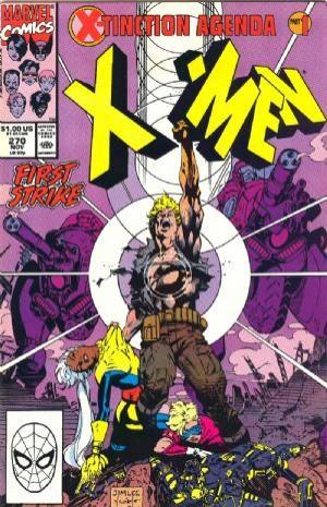 Couverture de Uncanny X-Men (The) (Marvel comics - 1963) -270- First strike