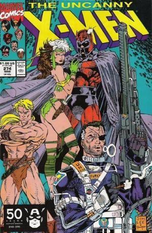 Couverture de Uncanny X-Men (The) (Marvel comics - 1963) -274- Crossroads