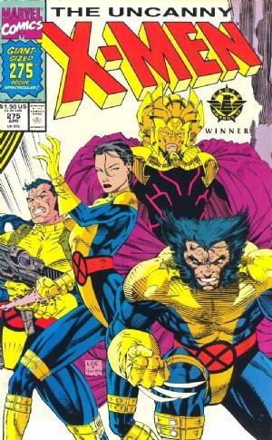 Couverture de Uncanny X-Men (The) (1963) -275- The path not taken !