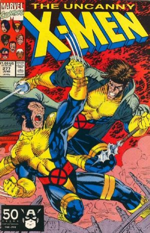 Couverture de Uncanny X-Men (The) (Marvel comics - 1963) -277- Free charley