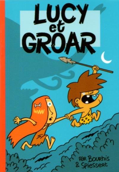 Couverture de Mini-récits et stripbooks Spirou -MR3892- Lucy et Groar