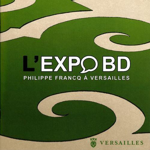 Couverture de (AUT) Francq -Cat- L'expo BD - Philippe Francq à Versailles