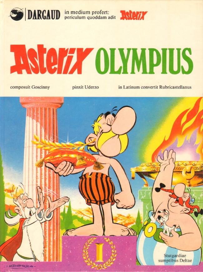 Couverture de Astérix (en latin) -12- Asterix olympius
