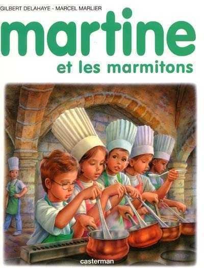 Couverture de Martine -51- Martine et les marmitons