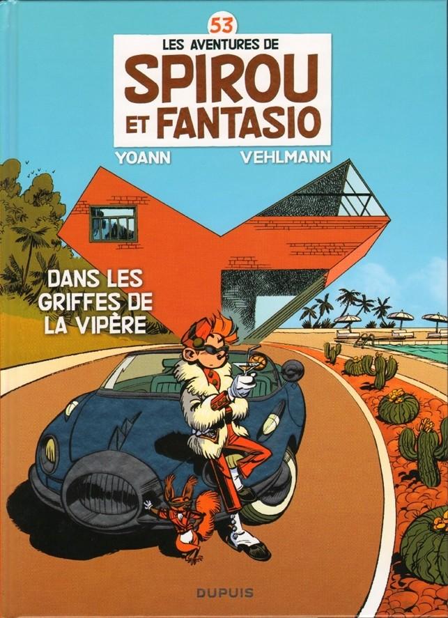 Couverture de Spirou et Fantasio -53- Dans les griffes de la Vipère