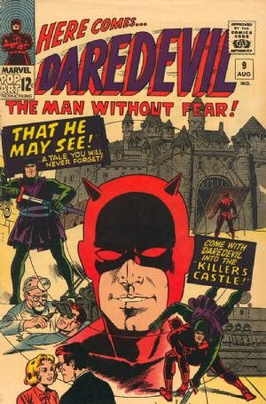 Couverture de Daredevil Vol. 1 (Marvel - 1964) -9- That he may see!