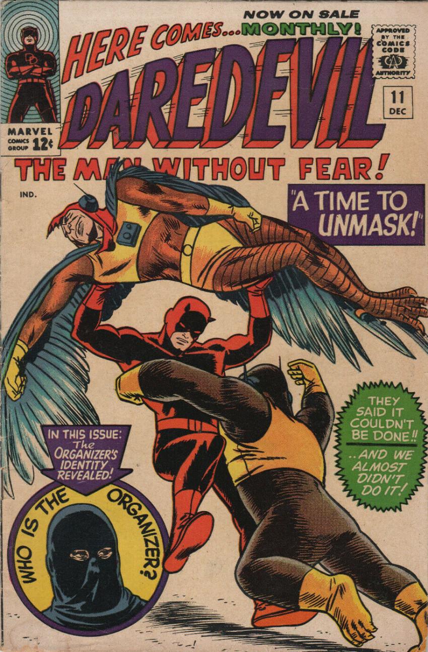 Couverture de Daredevil (1964) -11- A time to unmask!