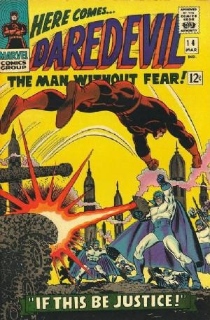 Couverture de Daredevil Vol. 1 (Marvel - 1964) -14- If this be justice!