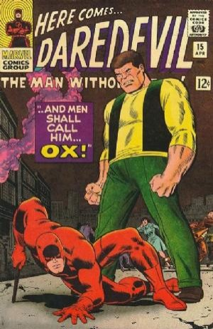 Couverture de Daredevil (1964) -15- ...And Men Shall Call Him... Ox!