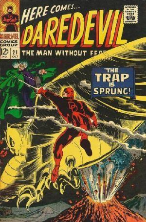 Couverture de Daredevil (1964) -21- The trap is sprung!