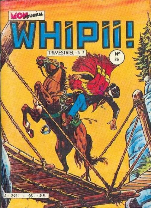 Couverture de Whipii ! (Panter Black, Whipee ! puis) -96- Stormy Joe - L'argent du diable
