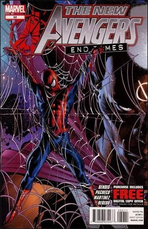 Couverture de New Avengers (The) (2010) -32- End times