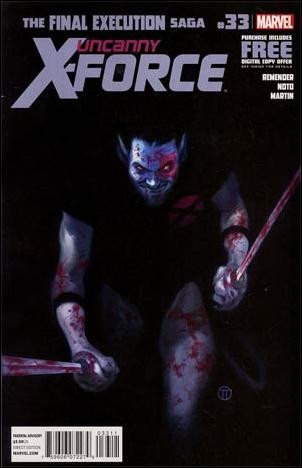 Couverture de Uncanny X-Force (2010) -33- Final execution part 9 : the father who must be killed
