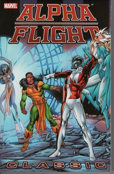 Couverture de Alpha Flight (Marvel comics - 1983) -INT03- Alpha Flight Classic Volume 3
