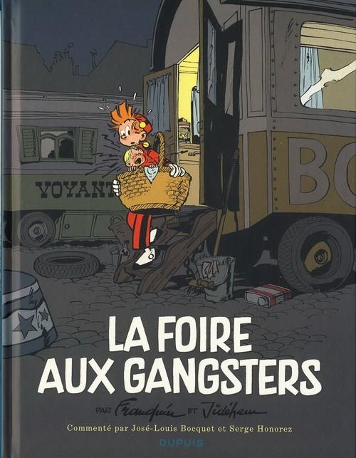 Couverture de Spirou et Fantasio -HCourte2- La Foire aux gangsters