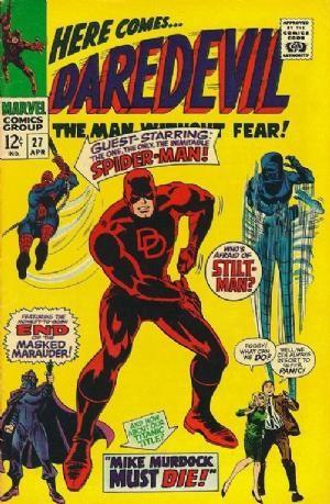 Couverture de Daredevil (1964) -27- Mike Murdock must die!