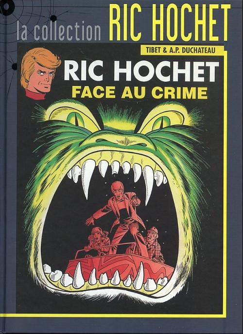 Couverture de Ric Hochet - La collection (Hachette) -38- Face au crime