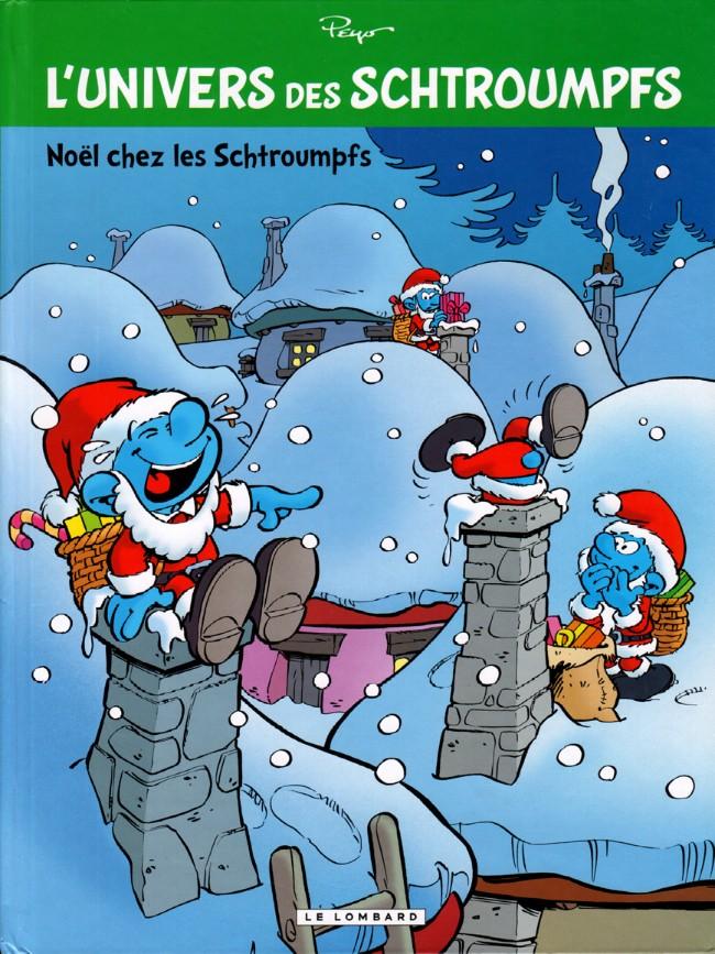 Couverture de Schtroumpfs (L'univers des) -2- Noël chez les Schtroumpfs