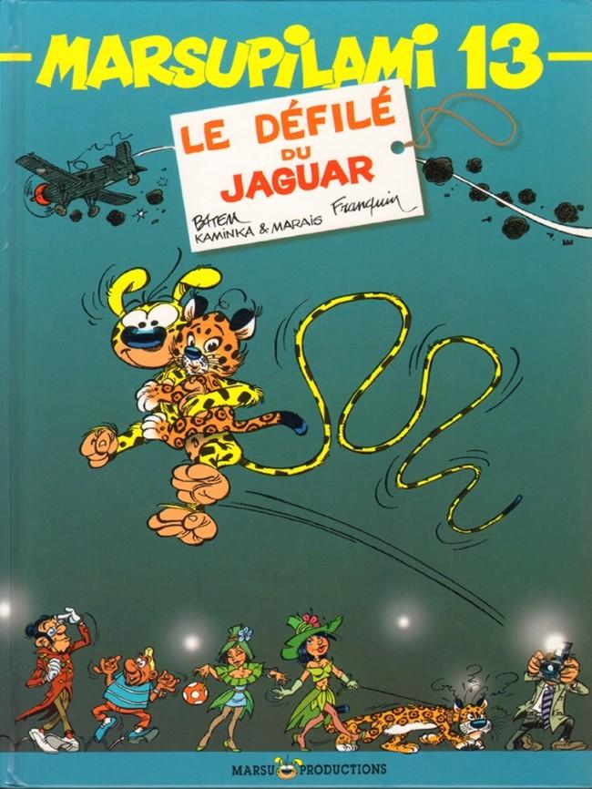 Couverture de Marsupilami -13- Le défilé du jaguar