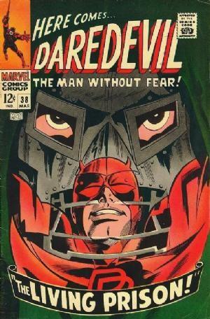 Couverture de Daredevil (1964) -38- The living prison!
