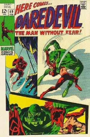 Couverture de Daredevil (1964) -49- Drops outtt!