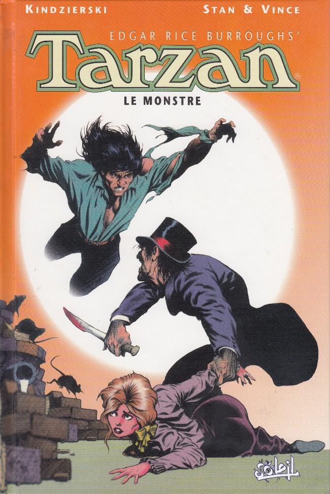 Couverture de Tarzan (Edgar Rice Burroughs') -1- Le Monstre